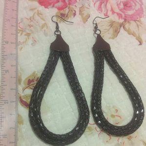 💛 2/$7💛 Brown Teardrop Earrings